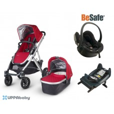 UPPAbaby Vista 2015 BeSafe Package - Denny (Red)