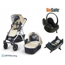 UPPAbaby Vista 2015 BeSafe Package - Lindsey (Wheat)
