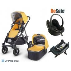 UPPAbaby Vista 2015 BeSafe Package - Maya (Yellow)