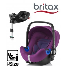 Britax Baby-Safe iSize Bundle - Mineral Purple