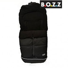 Bozz Universal Luxury Footmuff - Black