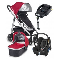Uppababy Cruz Travel System Package Denny Red