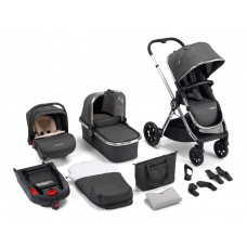 Babymore MeMore Travel System 13 Piece - Chrome Slate